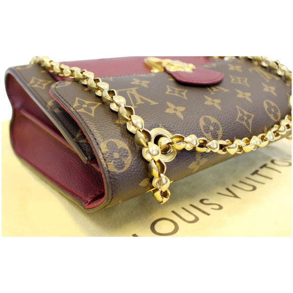 Gold Chain Lv Victoire Monogram Canvas Shoulder Bag