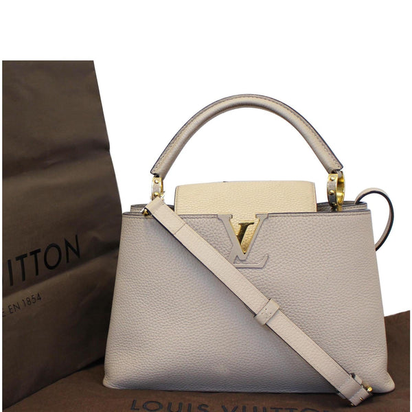 Louis Vuitton Capucines - lv Taurillon Leather Shoulder Bag women