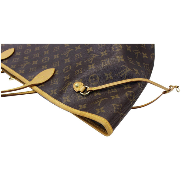 LOUIS VUITTON Neverfull GM Monogram Canvas Tote Shoulder Bag Brown