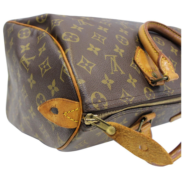 Louis Vuitton Speedy 35 - Lv Monogram - Lv Satchel Bag - lv zip