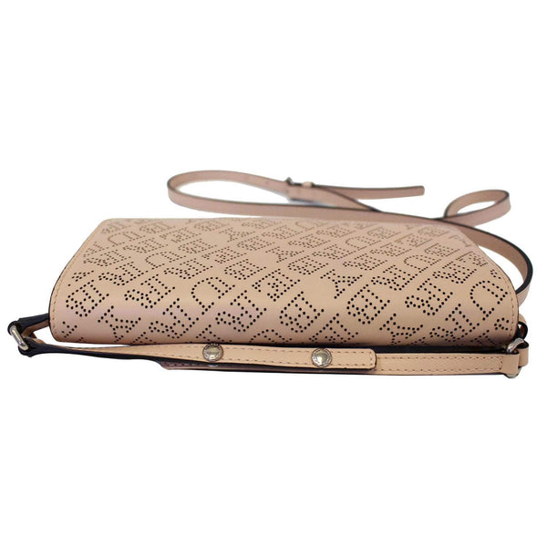 Burberry Crossbody Bag Hampshire Perforated Leather - back view