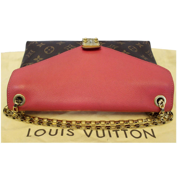 Louis Vuitton Pallas Chain Monogram Canvas Bag Front