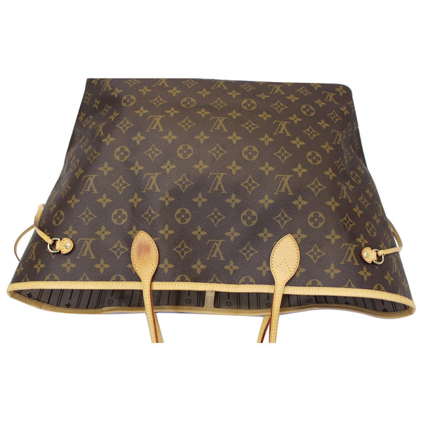 Louis Vuitton Neverfull GM Monogram Canvas Tote Bag - front view