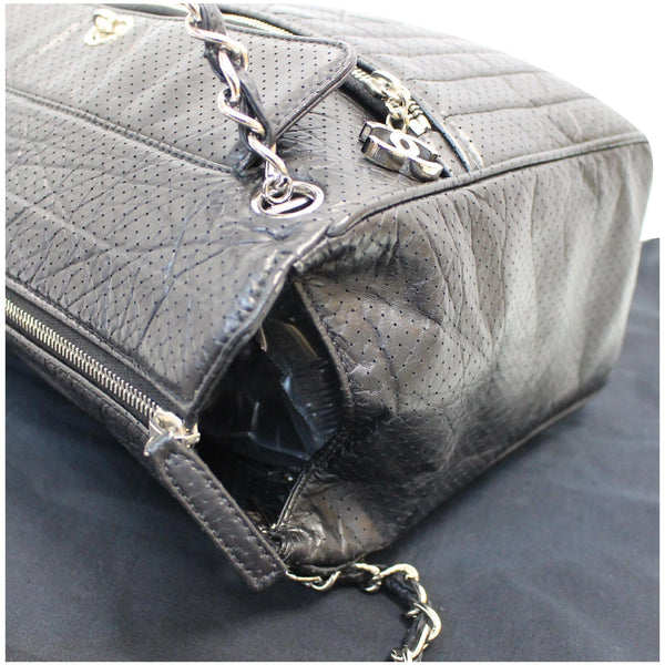 Chanel Calfskin Perforated 50's Bowler Bag - 15% OFF Sale