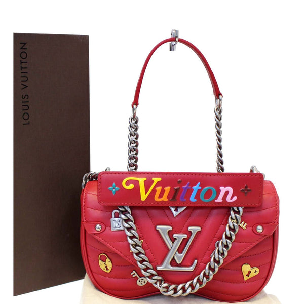 Louis Vuitton PM Wave Love Lock Chain Shoulder Bag