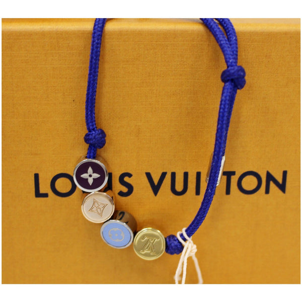 LOUIS VUITTON LV Colors Beads Bracelets Blue-US