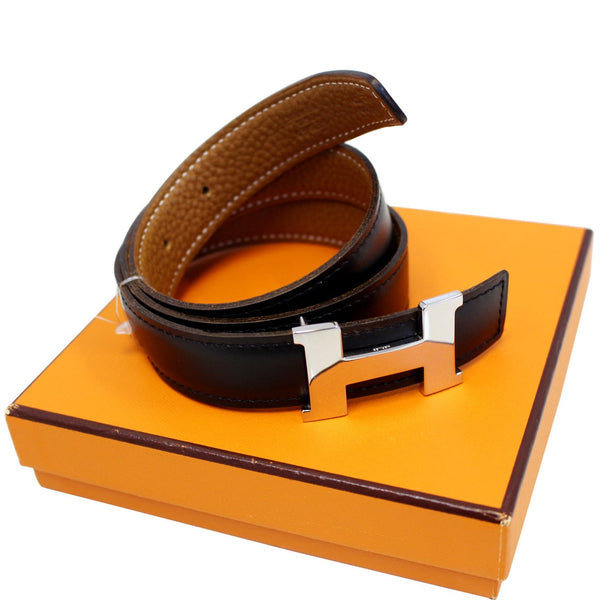 Hermes Belt Constance Buckle H Reversible Size 65 - leather
