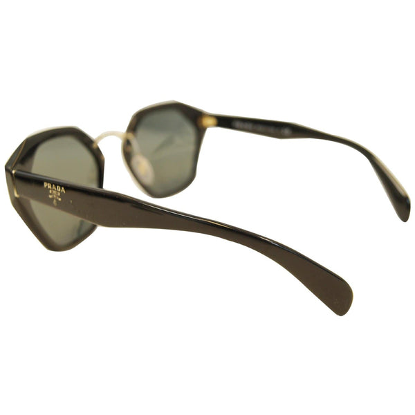 Prada Black Sunglasses Women's - Left Side Look