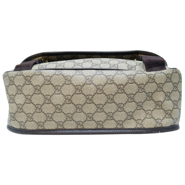 GUCCI GG Plus Canvas Messenger Crossbody Bag Beige 201732