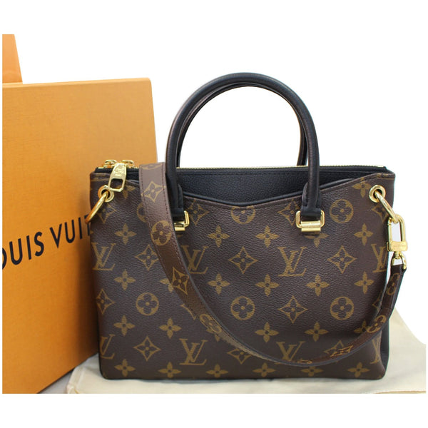 LOUIS VUITTON Pallas BB Monogram Canvas Shoulder Crossbody Bag Brown