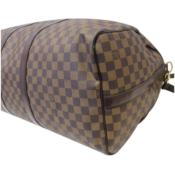 Louis Vuitton Keepall - Lv Damier Ebene Travel Bag - corner