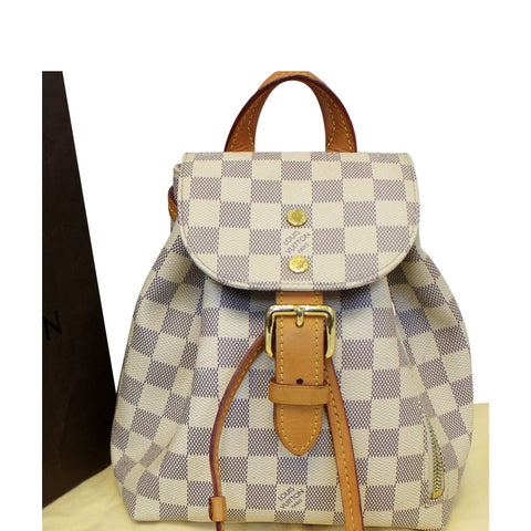 LOUIS VUITTON Sperone BB Damier Azur Backpack Bag