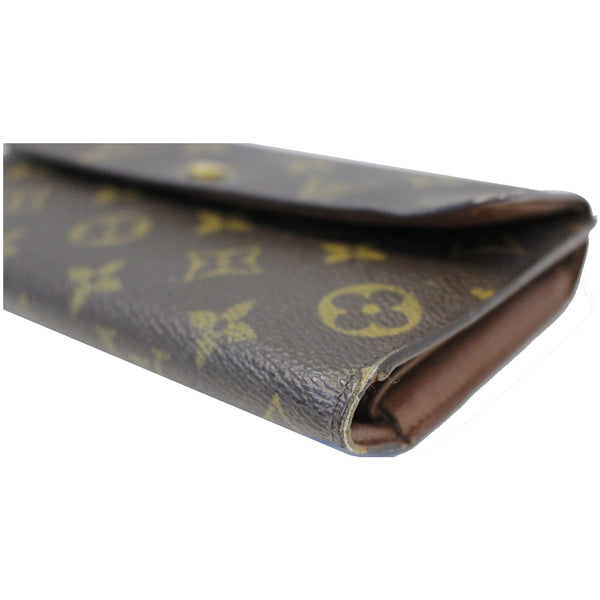 louis Vuitton Porte Tresor International Wallet - corner view