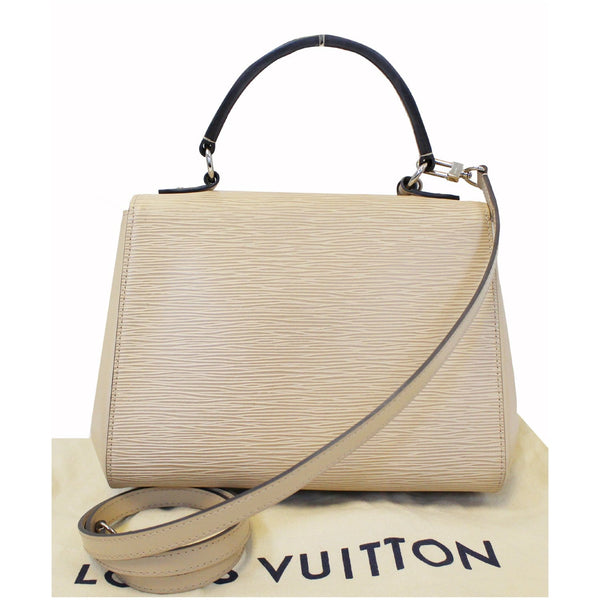 LOUIS VUITTON Cluny MM Epi Leather Shoulder Bag Dune-US