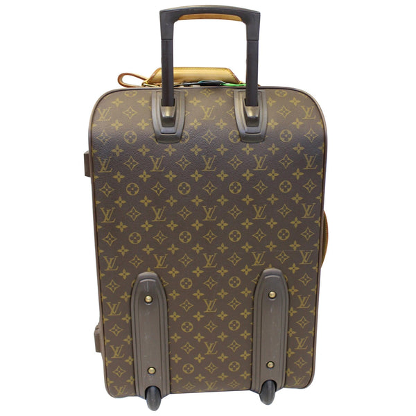 Louis Vuitton Pegase 55 Monogram Canvas Travel Bag back