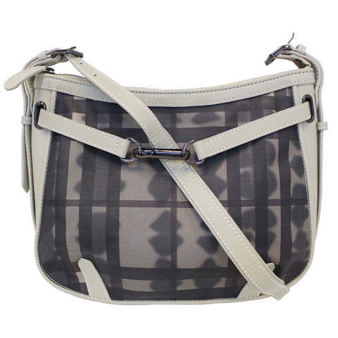 Burberry Tie Dye Smoked Check Shoulder Bag