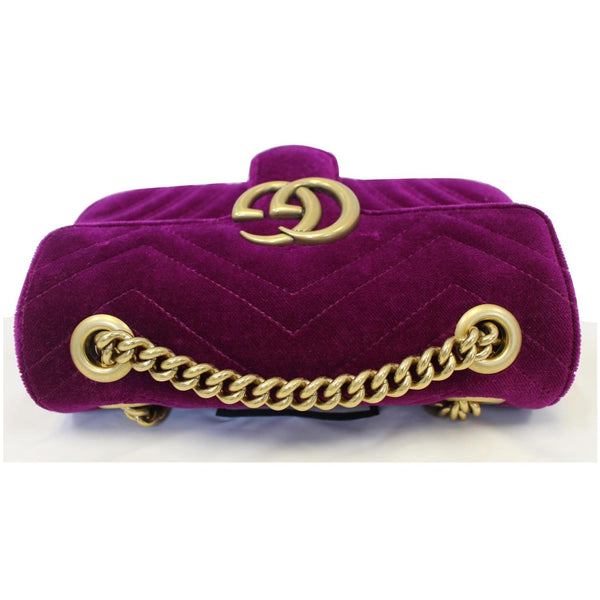 Gucci GG Marmont Velvet Mini Shoulder Crossbody Bag - online