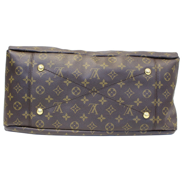 Louis Vuitton Artsy MM Monogram Shoulder Bag - back view