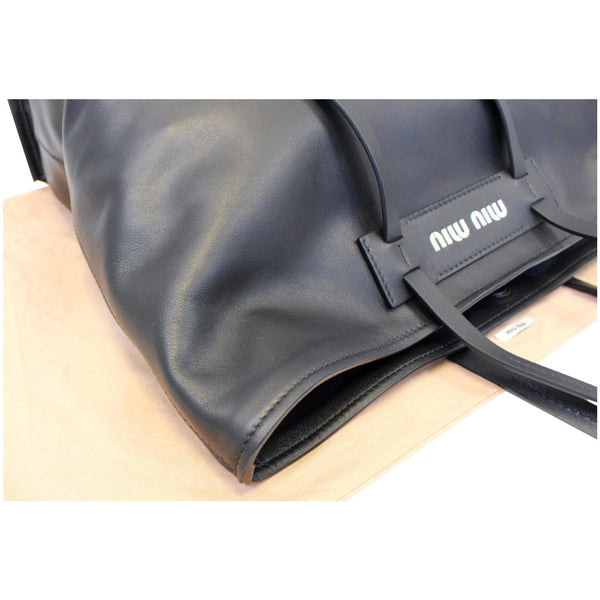 Miu Miu Patch Medium Grace Lux Tote Bag - right view