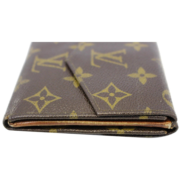 Louis Vuitton Wallet Monogram Canvas Vintage Flap - down view