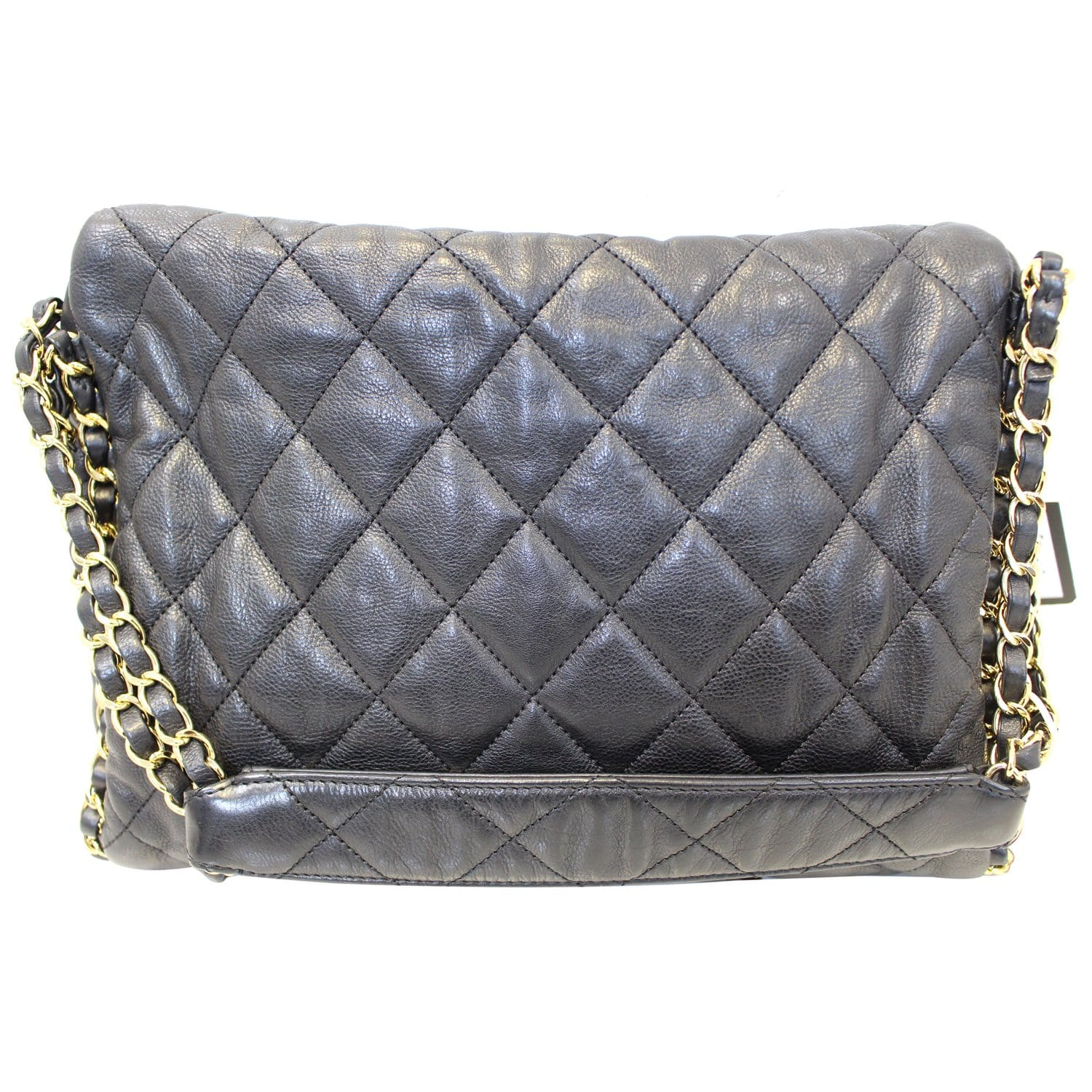bf6530502bdc3e CHANEL Hobo Quilted Ultimate Soft Chain Around Tote Bag-US