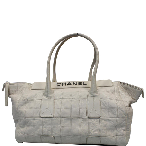 Chanel Square Stitched Lax Lambskin Tote Bag - 15% OFF