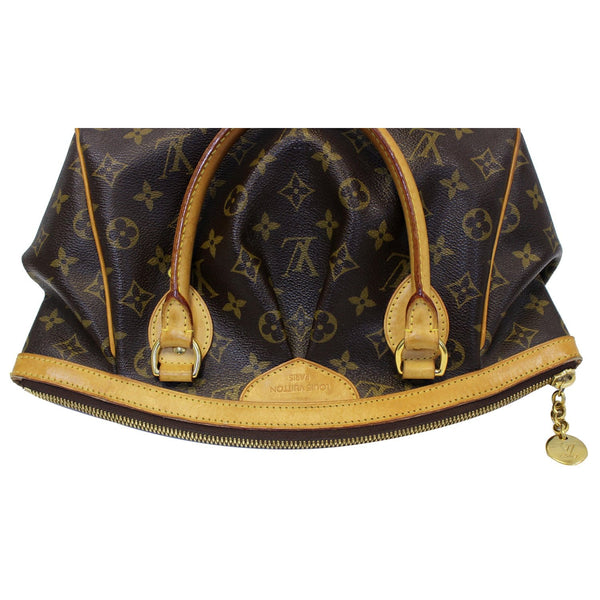 Louis Vuitton Tivoli PM Monogram Canvas Hand Bag straps