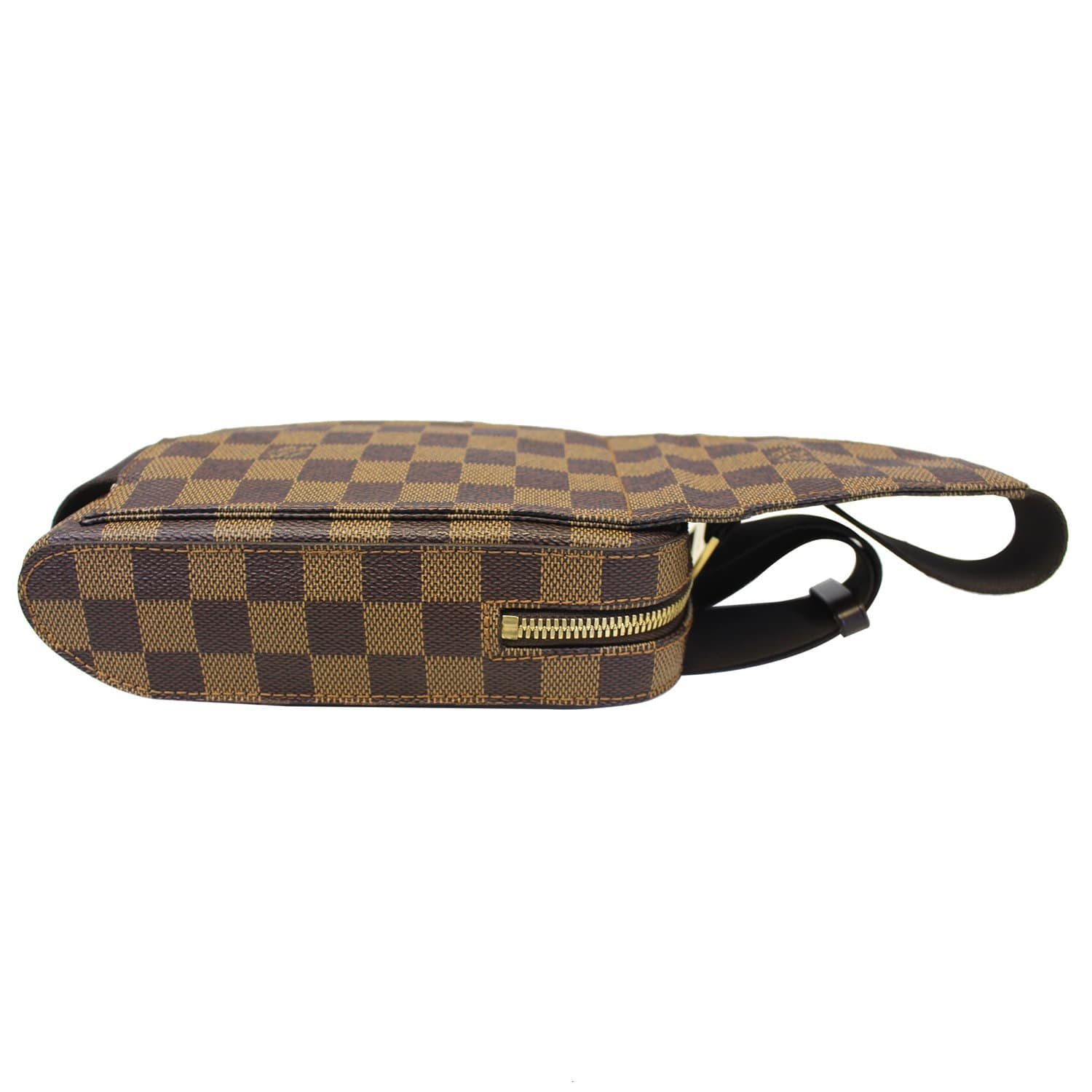 5d2d80b21b41 LOUIS VUITTON Damier Ebene Geronimos Brown Hip Bag-US
