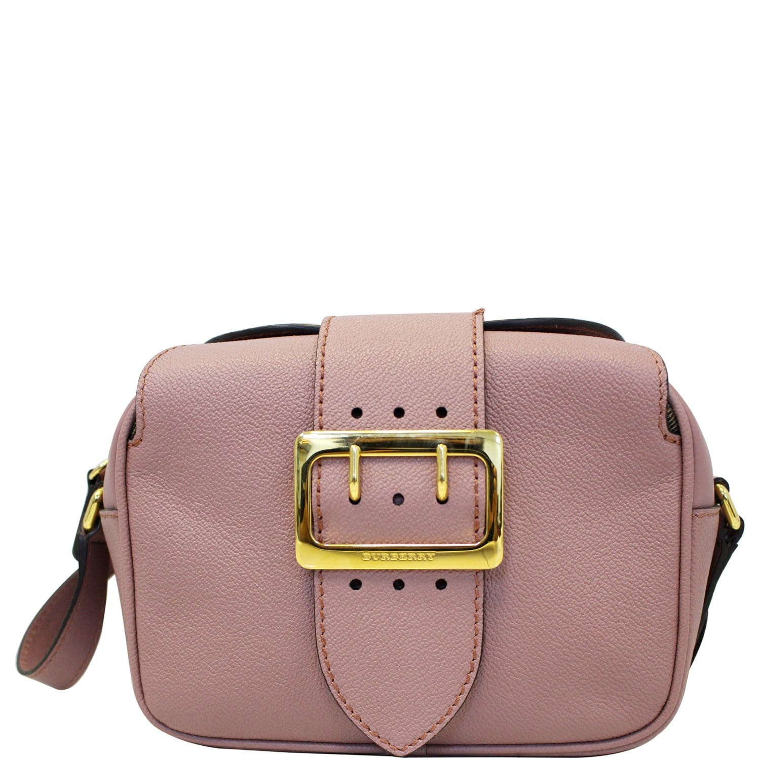 58c677b99a2 BURBERRY Medley Small Buckle Crossbody Bag Light Pink-US