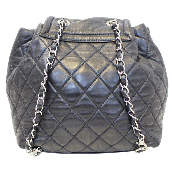 CHANEL Beijing 2 in 1 Black Quilted Leather Backpack Bag-US