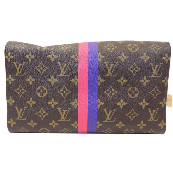 LV Speedy 30 Mon Bandouliere  Shoulder Bag - Bottom view