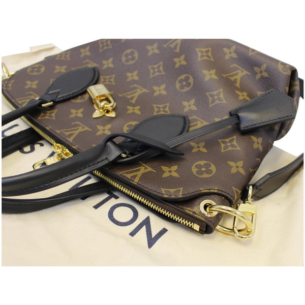 Louis Vuitton Flower Tote Zipped PM Monogram Shoulder Bag brown
