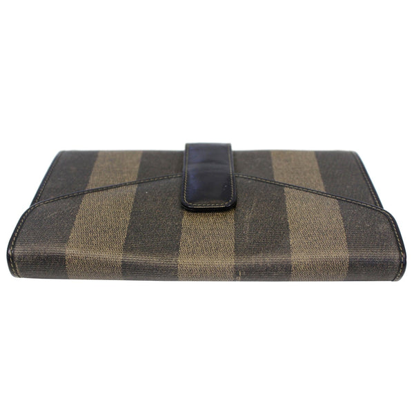 Fendi Vintage Pequin Stripe Wallet Brown for sale