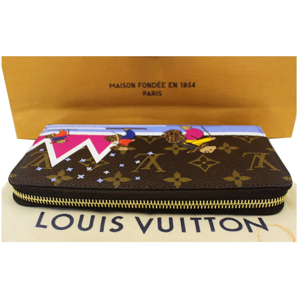 Louis Vuitton Holiday Zippy Wallet - Lv Monogram Wallet brown