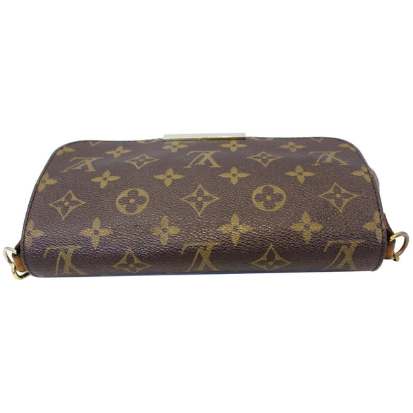 Louis Vuitton Favorite PM Monogram Canvas Bag - bottom view