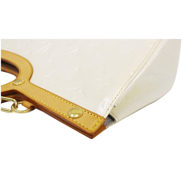 Louis Vuitton Leather Roxbury Drive Vernis Shoulder Bag cream - corner