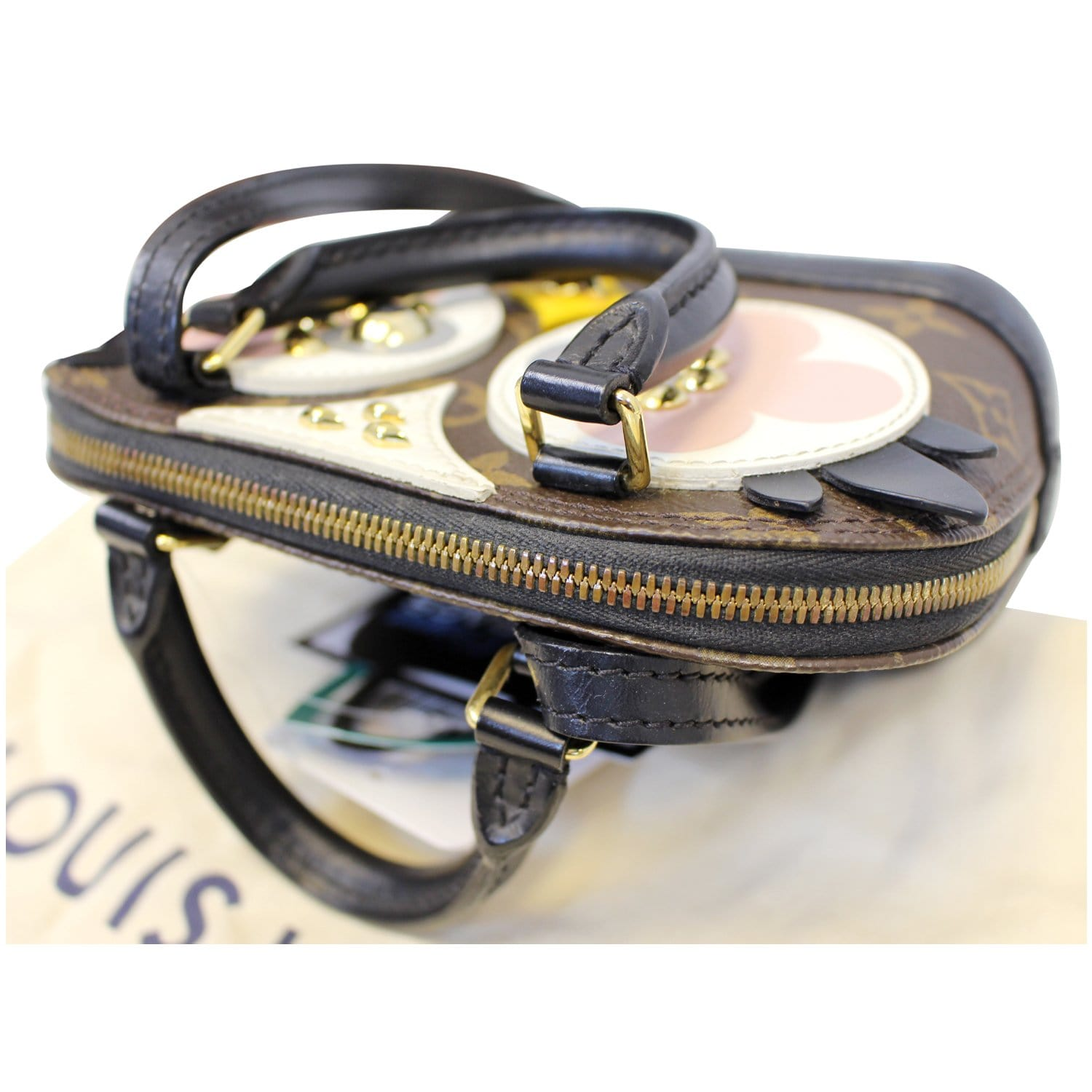 LOUIS VUITTON Nano Alma Owl Crossbody Shoulder Bag-US  3635aa07636f6