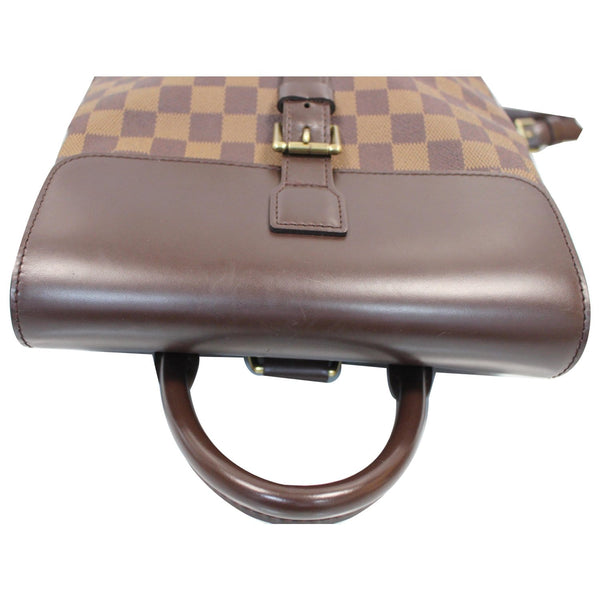 used Louis Vuitton Soho Damier Ebene Backpack Bag Brown