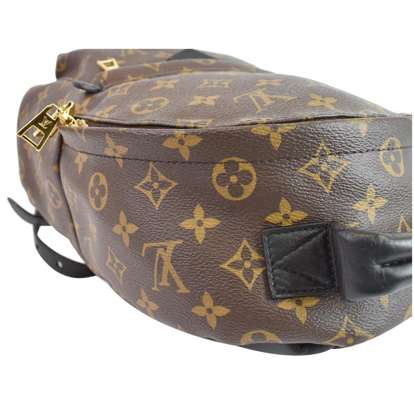 Louis Vuitton Palm Springs PM Monogram Canvas Backpack - corner focused