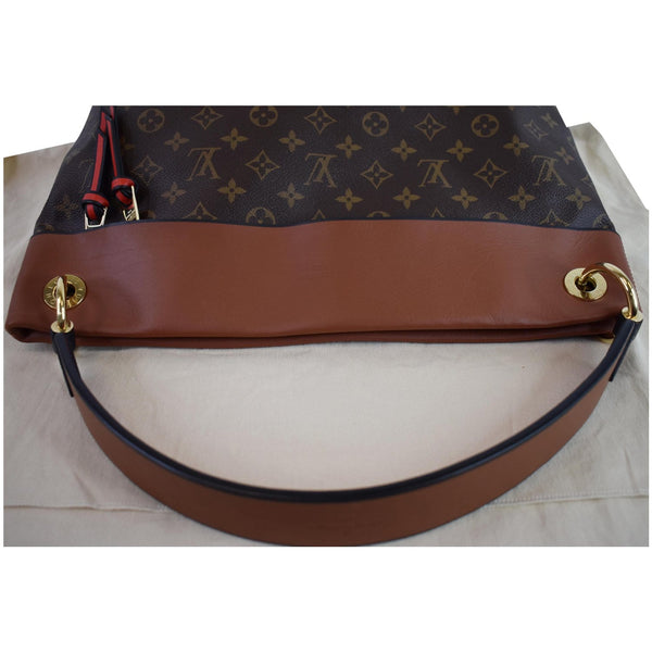 Louis Vuitton Tuileries Monogram Canvas bag handle