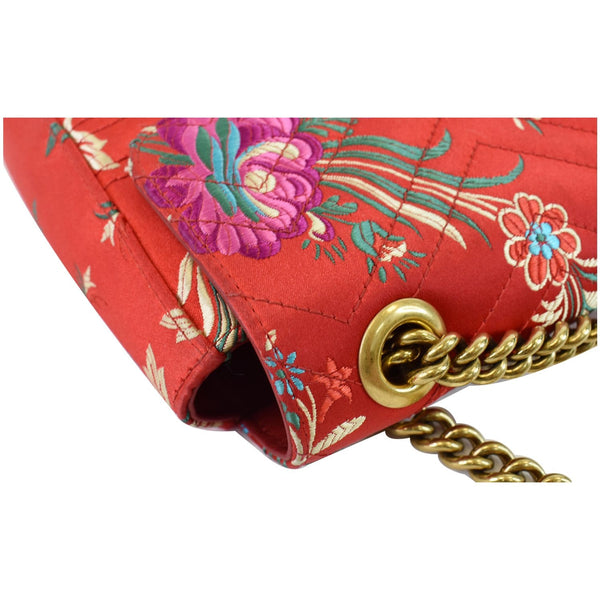 Gucci GG Marmont Floral Medium leather Bag for sale