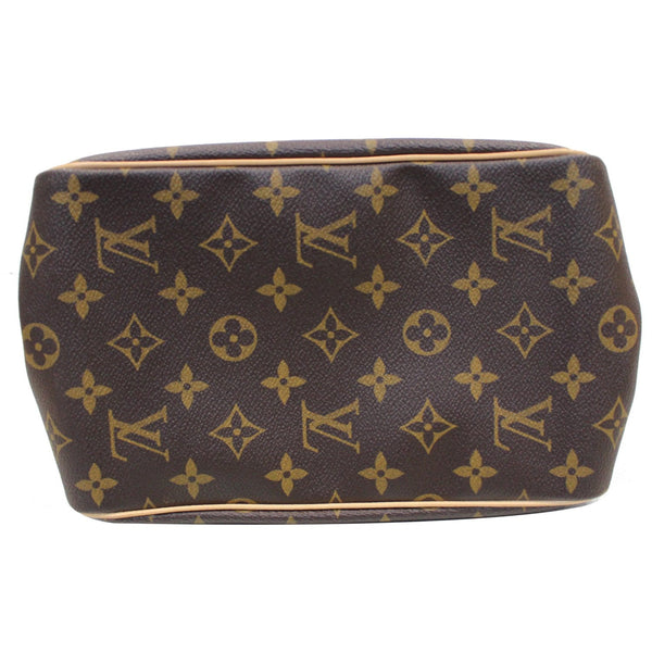 bottom lv  Batignolles Vertical Monogram Canvas Bag