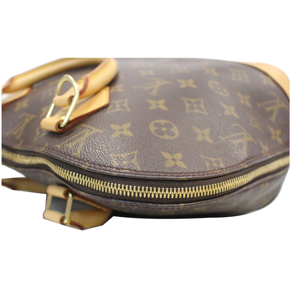 Louis Vuitton Alma Monogram Canvas Satchel Bag Brown -  for sale