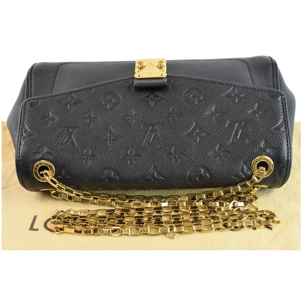 Louis Vuitton St Germain MM Flap Closure Bag Black