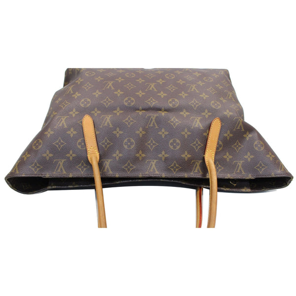 upper view lv Monogram Canvas Raspail MM Bag Brown