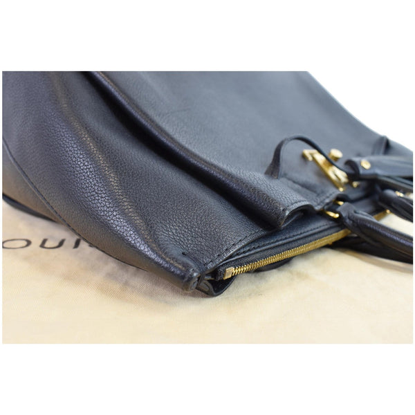 Louis Vuitton Lockmeto Calfskin Leather Zipper bag