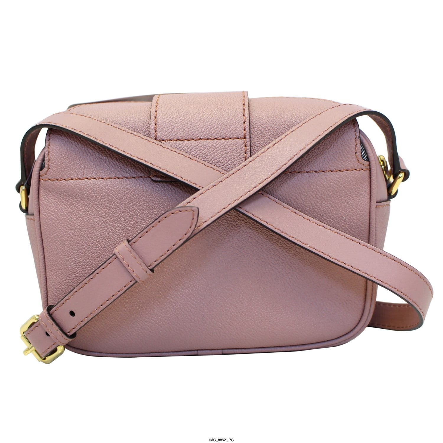 BURBERRY Medley Small Buckle Crossbody Bag Light Pink-US  d2bee0640af51