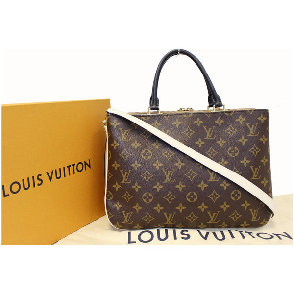 Lv Millefeuille Monogram Canvas Crossbody  Bag
