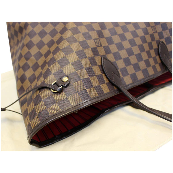 Louis Vuitton Neverfull GM Damier Ebene Tote Shoulder Bag - corner