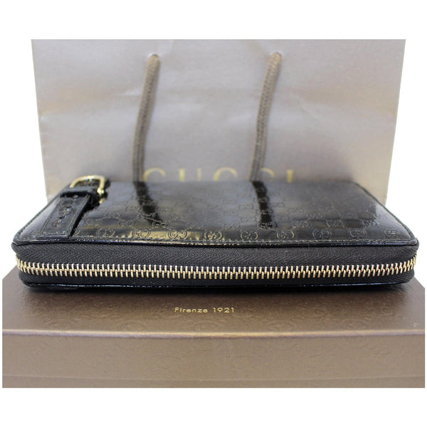 Gucci Wallet Nice Microguccissima Patent Leather - front view